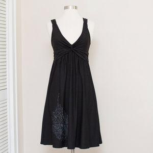 Patagonia Black Crossover Empire Waist Dress S